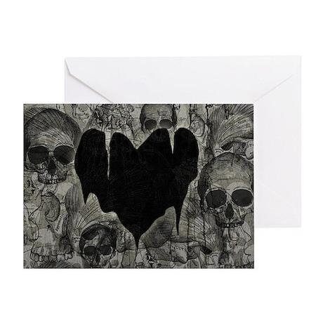 Bleak Heart Greeting Card
