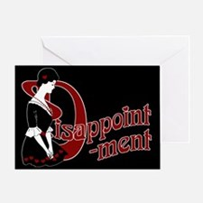D For Disappointment Greeting Card