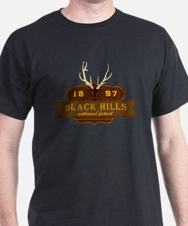 Black Hills National Park Crest T-Shirt