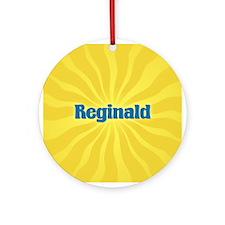 Reginald Sunburst Ornament (Round)