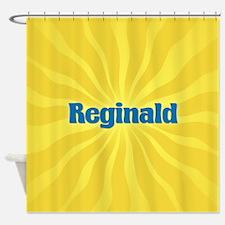 Reginald Sunburst Shower Curtain