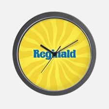 Reginald Sunburst Wall Clock