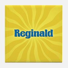 Reginald Sunburst Tile Coaster