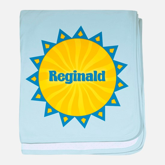 Reginald Sunburst baby blanket