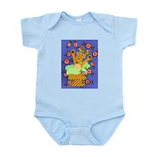 Reindeer & Peppermints Infant Bodysuit
