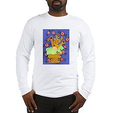 Reindeer & Peppermints Long Sleeve T-Shirt