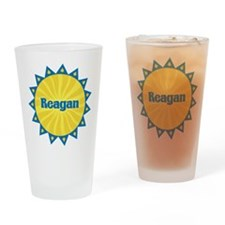 Reagan Sunburst Drinking Glass