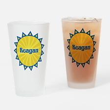Reagan Sunburst Drinking Glass
