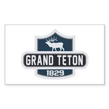 Grand Teton Nature Badge Decal