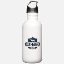 Grand Teton Nature Badge Water Bottle
