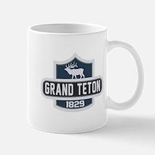 Grand Teton Nature Badge Mug