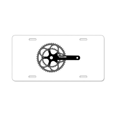 ride.png Aluminum License Plate