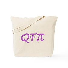 Q*T*Pi Tote Bag