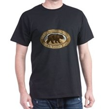 Grand Teton Brown Bear Badge T-Shirt