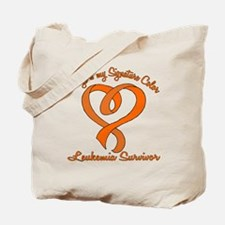 Orange Signature Color.png Tote Bag