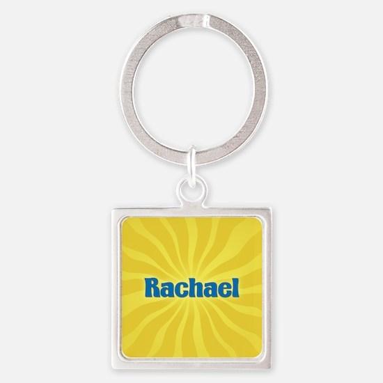 Rachael Sunburst Square Keychain