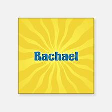 "Rachael Sunburst Square Sticker 3"" x 3"""