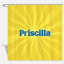 Priscilla Sunburst Shower Curtain