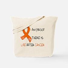 i orange life.png Tote Bag