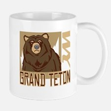Grand Teton Grumpy Grizzly Mug