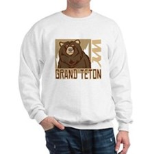 Grand Teton Grumpy Grizzly Sweater