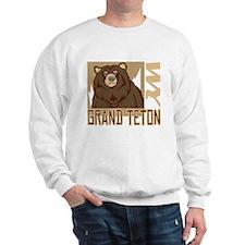 Grand Teton Grumpy Grizzly Sweatshirt