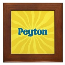 Peyton Sunburst Framed Tile