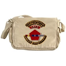 Army - 5th RCT - w Korean Svc Messenger Bag