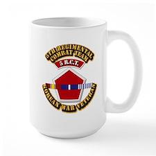 Army - 5th RCT - w Korean Svc Mug