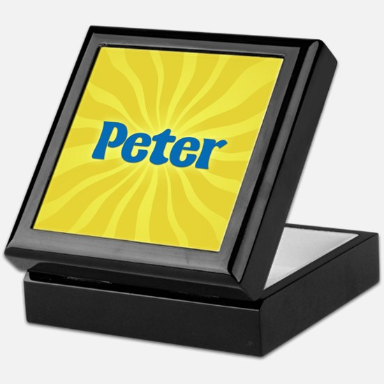 Peter Sunburst Keepsake Box