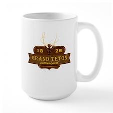 Grand Teton National Park Crest Mug