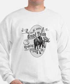 Grand Teton Vintage Moose Sweater