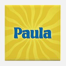 Paula Sunburst Tile Coaster