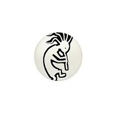kokopelli Mini Button (100 pack)