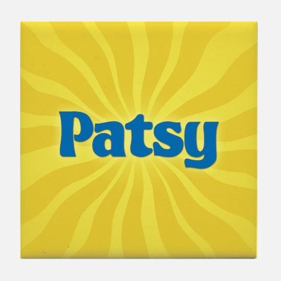 Patsy Sunburst Tile Coaster