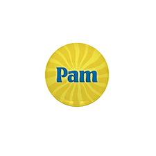 Pam Sunburst Mini Button (10 pack)
