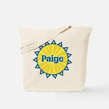 Paige Sunburst Tote Bag