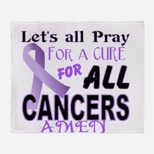 All Cancer Throw Blanket