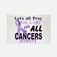 All Cancer Rectangle Magnet (10 pack)