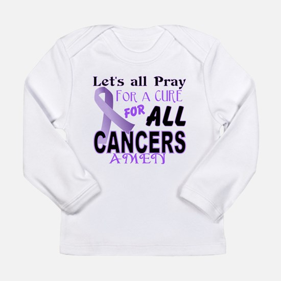 All Cancer Long Sleeve Infant T-Shirt