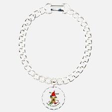 Airedale Terrier Christmas Bracelet