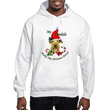 Airedale Terrier Christmas Hoodie