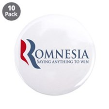 "Romnesia 3.5"" Button (10 pack)"