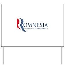Romnesia Yard Sign
