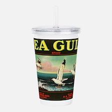 Sea Gulls Acrylic Double-wall Tumbler