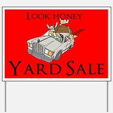 Yard Sale Yard Sign