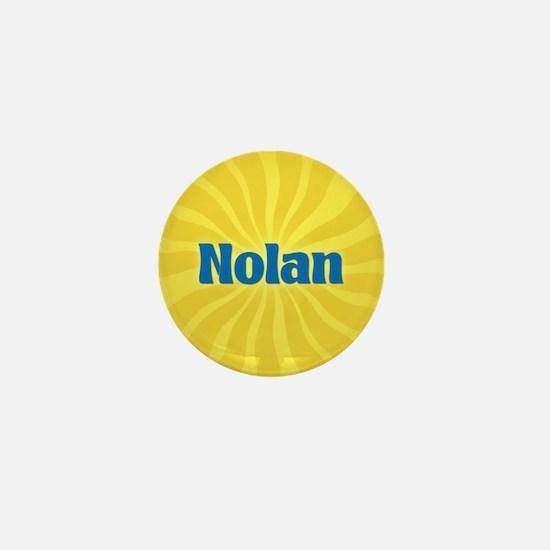 Nolan Sunburst Mini Button