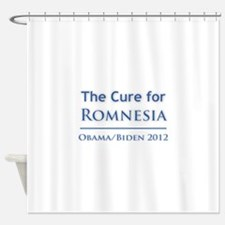 Obama is the Cure for Romnesia Shower Curtain
