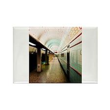 Chicago El Train Rectangle Magnet
