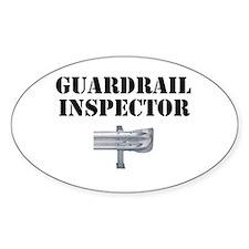 Guardrail Inspector Decal